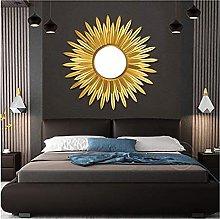 Mirror Decorative Wall Mirror Sunshine Style Round