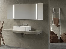 Mirror for bathroom Led Cigno
