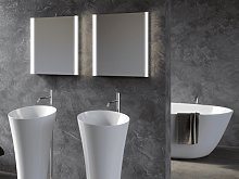 Mirror for bathroom Led Lira
