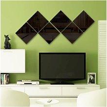 Mirror mirror wall stickers wallpaper sticker