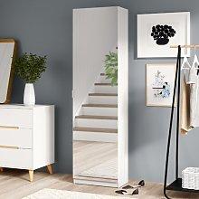 Mirror Shoe Storage Cabinet Hashtag Home