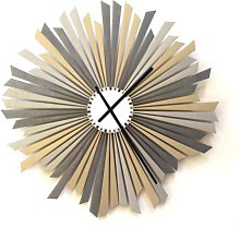 Mishler Silent Wall Clock Ebern Designs Size: 59cm