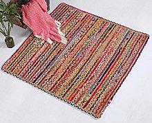 Mishran Eco Friendly Medium Square Braided Rug