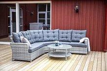 Mishti 5 Seater Rattan Corner Sofa Set Sol 72