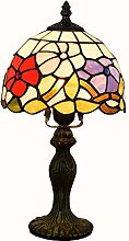 MISLD 8 In Tiffany Style Table Lamp Banker