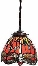 MISLD Chandelier Lighting Tiffany Style Pendant