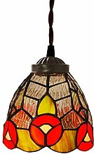 MISLD Inch Pendant Lighting, Colored Glass Art