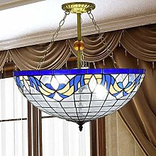 MISLD Light Style Pendant Lighting Stained-glass