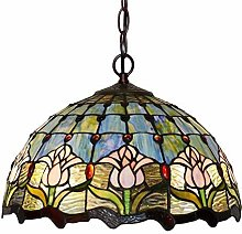 MISLD Lighting Tiffany Style Fixture Victorian