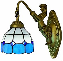 MISLD Mediterranean Blue Wall Lamp Sconce