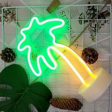 MISLD Neon Sign Table LED Night Light Cactus