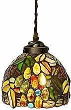 MISLD Style Glass Chandelier Lighting Inch Tiffany