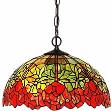 MISLD Tiffany Style Pendant Lamps Hanging Lighting