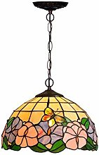MISLD Tiffany-style Stained-glass Lampshade