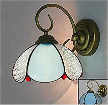 MISLD Wall Light Vintage Tiffany Style Wall