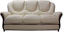 Mississippi Genuine Italian Leather 3 Seater Sofa