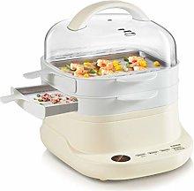 MISSLIU Household Rice Cooker Steamer Steamed