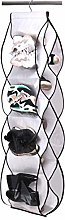 MISSLO Shoe Storage Hanging Wardrobe Handbag