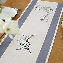 MissW Chinese Style Cotton And Linen Ink Painting