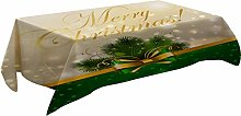 MissW Christmas Day Series Tablecloth Elk Bow