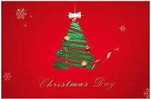 MissW Christmas Decoration Placemat Hotel Festive