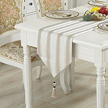 MissW Nordic Simple Tassel Table Runner Thick