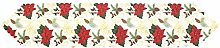 MissZZ Christmas Embroidered Table Christmas Table