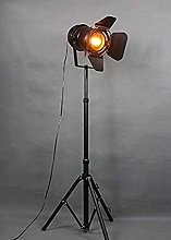 MissZZ Industrial Retro Floor Lamp, Vintage