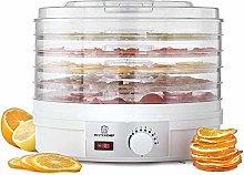 MisterChef® Food Dehydrator, 250W Large 5 Trays