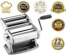MisterChef v3 Pasta Maker Kit, Silver