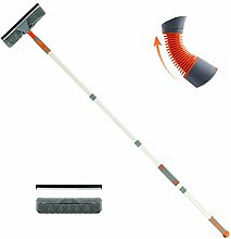 Mitclear Extendable Window Cleaner Squeegee