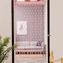 Mitlfuny 50x200cm Love Heart String Curtain Window