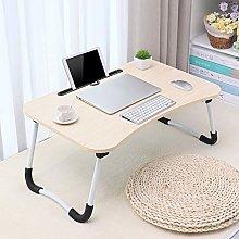 Mittory Simple Foldable Lazy Laptop Desk 23.6 *