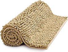 MIULEE Bath Mat Non Slip Chenille Bathroom Mat