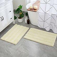 MIULEE Bath Mat Set Non Slip Bathroom Mats Sets