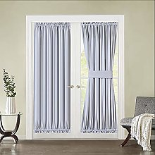 MIULEE Room Darkening Curtain Panel for French
