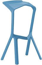 Miura Bar stool - H 78 cm - Plastic by Plank Light