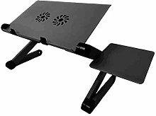 Miwaimao Adjustable Aluminum Laptop Desk Ergonomic