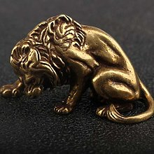 Miwaimao Antique Bronze Lion King like strong