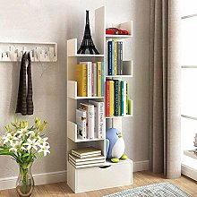 Miwaimao Bookshelf Display Rack Book Cabinet Book