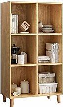 Miwaimao Bookshelf Modern Display Shelf Organizer