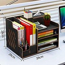 Miwaimao Desktop Magazine Holder Bookshelf,File