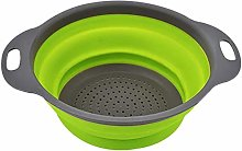 Miwaimao Folded Collapsible Colander Kitchen