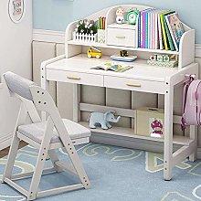 Miwaimao Kids Study Desk Wooden Kids Study Desk