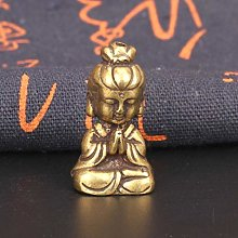 Miwaimao miniature solid copper Goddess of Mercy