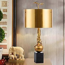 Miwaimao table lamps All Copper Marble Hotel Room