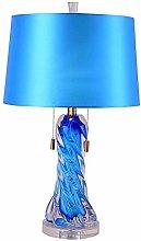 Miwaimao table lamps Modern Simple Blue Glazed