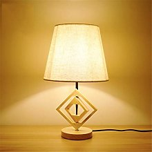 Miwaimao table lamps Solid Wood Lamp Bedroom