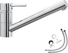 Mixer tap, traversable - grey