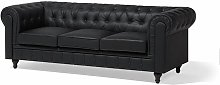 Mizelle 3 Seater Chesterfield Sofa Ophelia & Co.